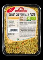 Quinoa con verduras Natursoy 300g.
