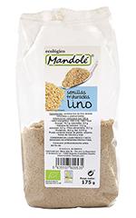 Semillas de lino dorado triturado Mandolé 175g.