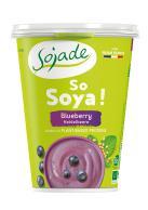 Yogur de soja arándanos Sojade 400g.