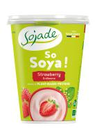 Yogur de soja fresa 400g.