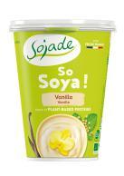 Yogur de soja vainilla Sojade 400g.