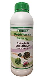 Solución potásica K2O Castalia Bio 1l.