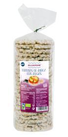 Tortas de arroz y algas eco 140g.