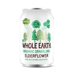 Refresco de sauco bio Whole Earth 330ml.