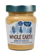 Crema de cacahuete bio Whole Earth 227g.