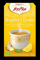 Infusión Jengibre y limón 17 bolsitas
