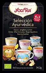 Selección ayurvédica (6 variedades) 18 bolsitas