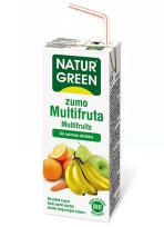Zumo multifruta mini Naturgreen 3x200ml.