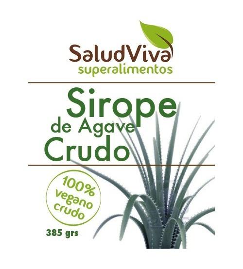 Sirope de agave crudo 385g.