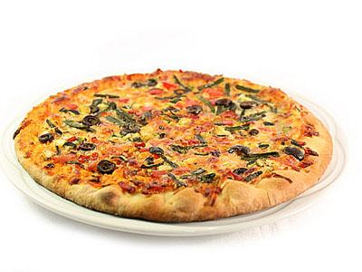 Pizzas vegetales