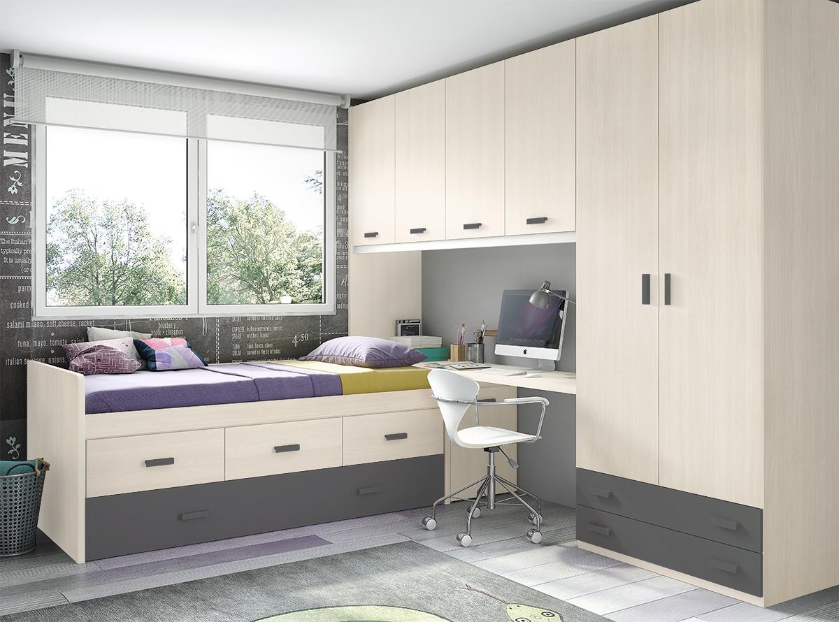Habitacion Akane Dormitorios Juveniles Hipermueble