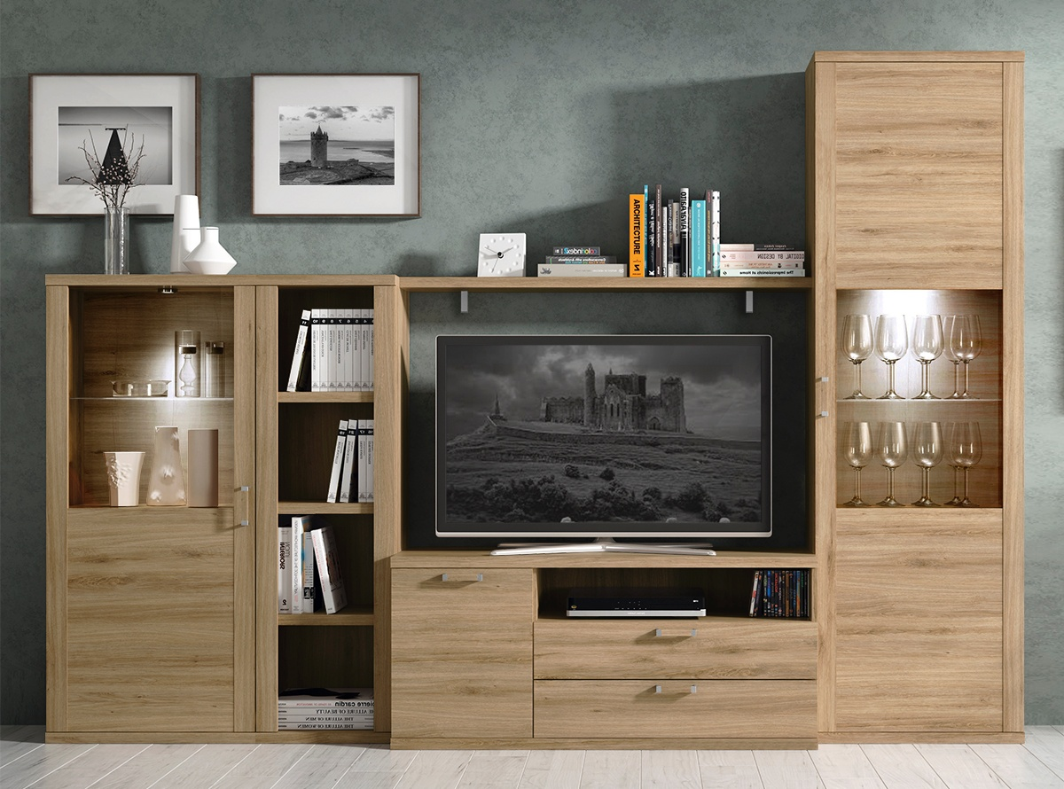Mueble de salon moka mo1 salones modernos hipermueble for Outlet muebles salon