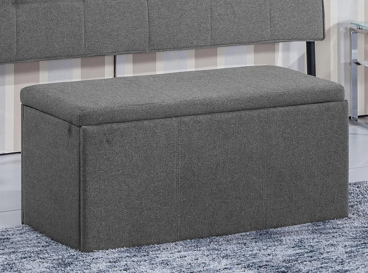 Baul tapizado drume muebles de salon hipermueble for Sofa baul terraza
