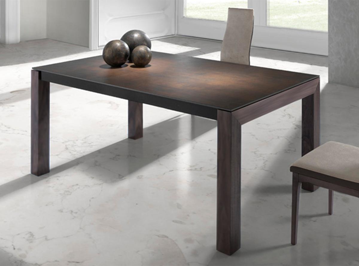 Mesa gonkyo mesas de comedor hipermueble - Mesa comedor porcelanico ...