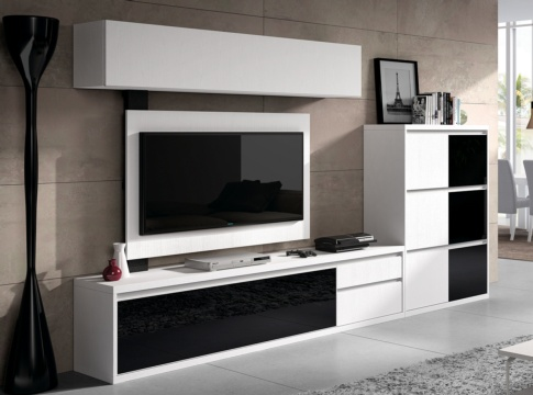 Mueble de salon kebit salones modernos hipermueble - Hipermueble mallorca ...