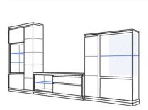 Mueble de salon kebit salones modernos hipermueble - Hipermueble palma de mallorca ...