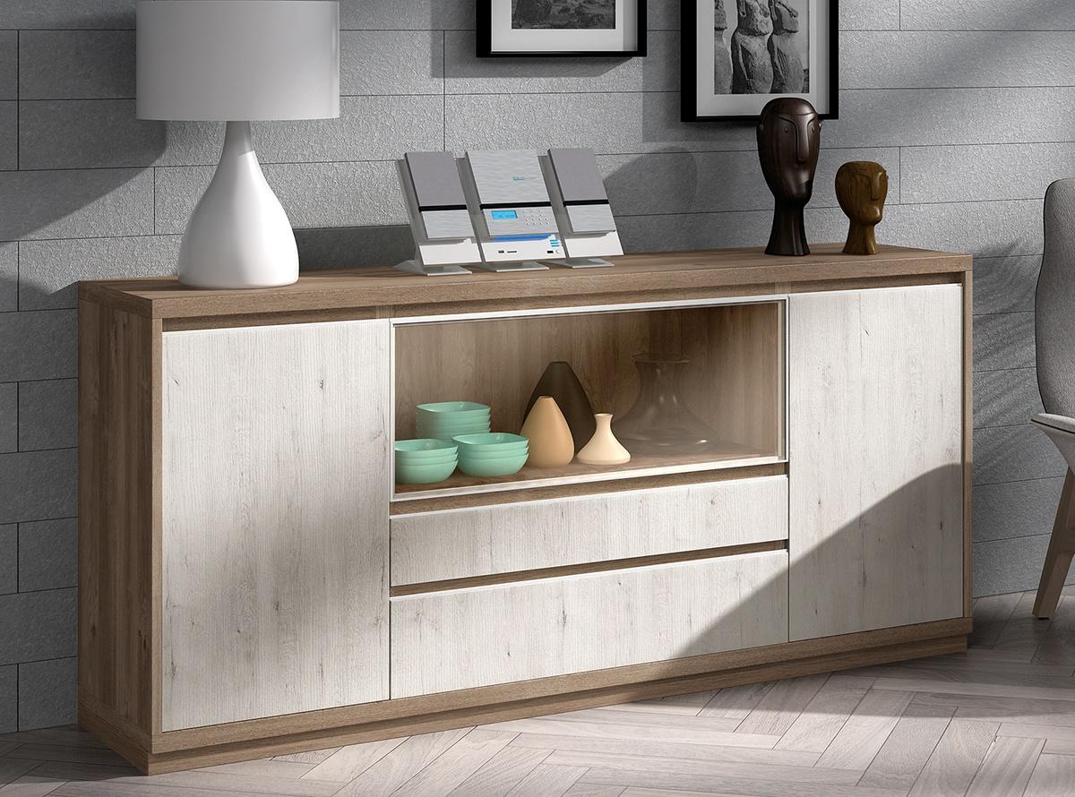 Aparador berun muebles auxiliares hipermueble for Aparadores altos modernos