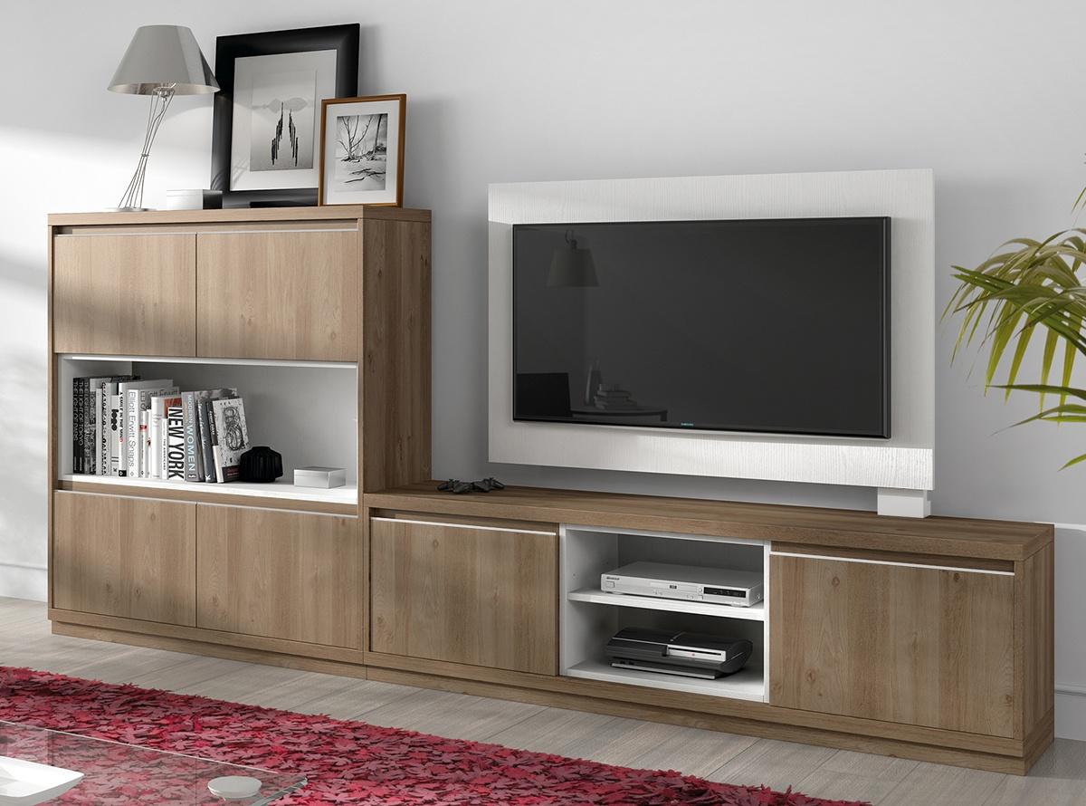 Mueble de salon berun salones modernos hipermueble - Hipermueble menorca ...