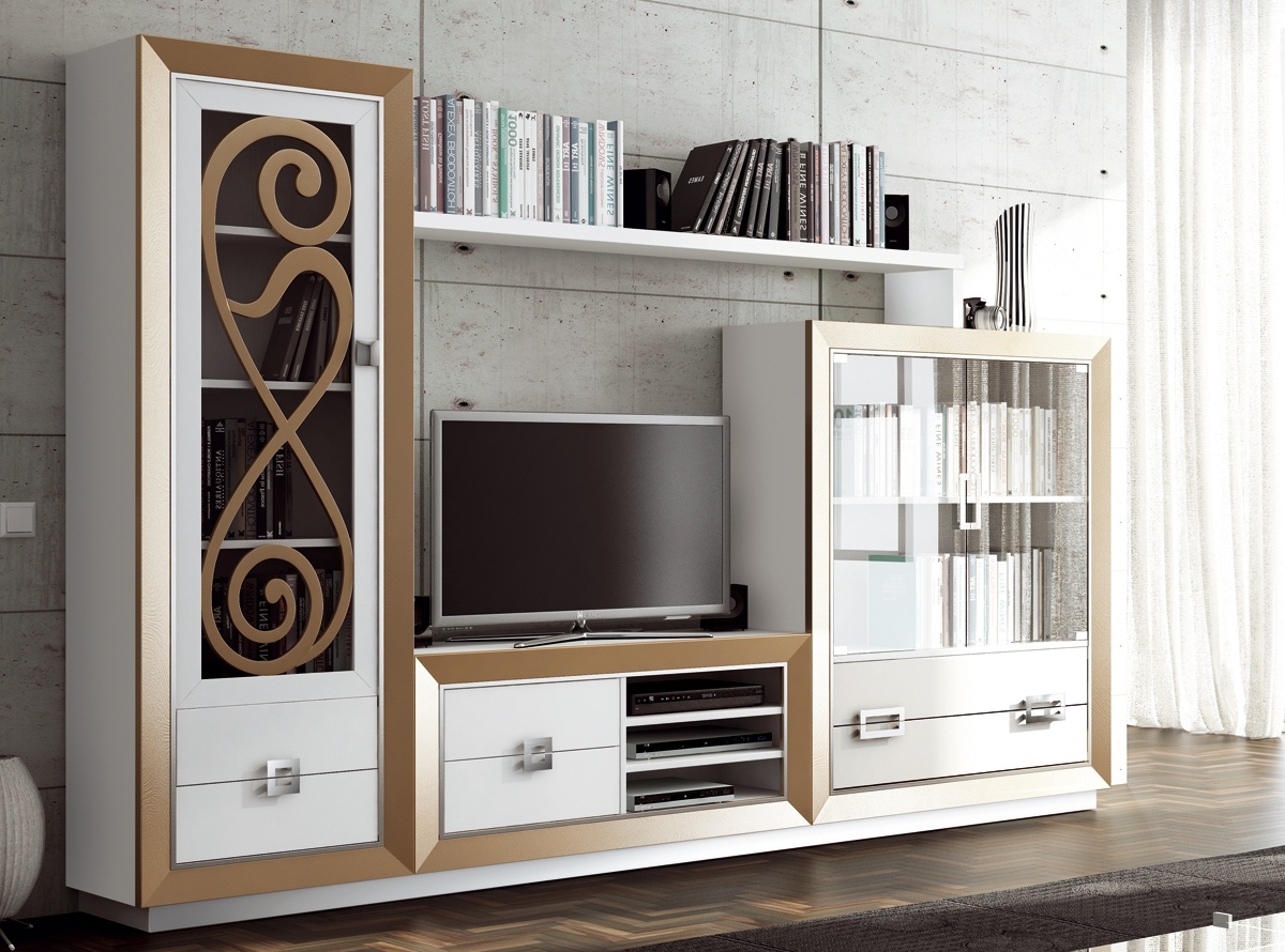 Mueble de salon heka salones modernos hipermueble for Outlet muebles salon