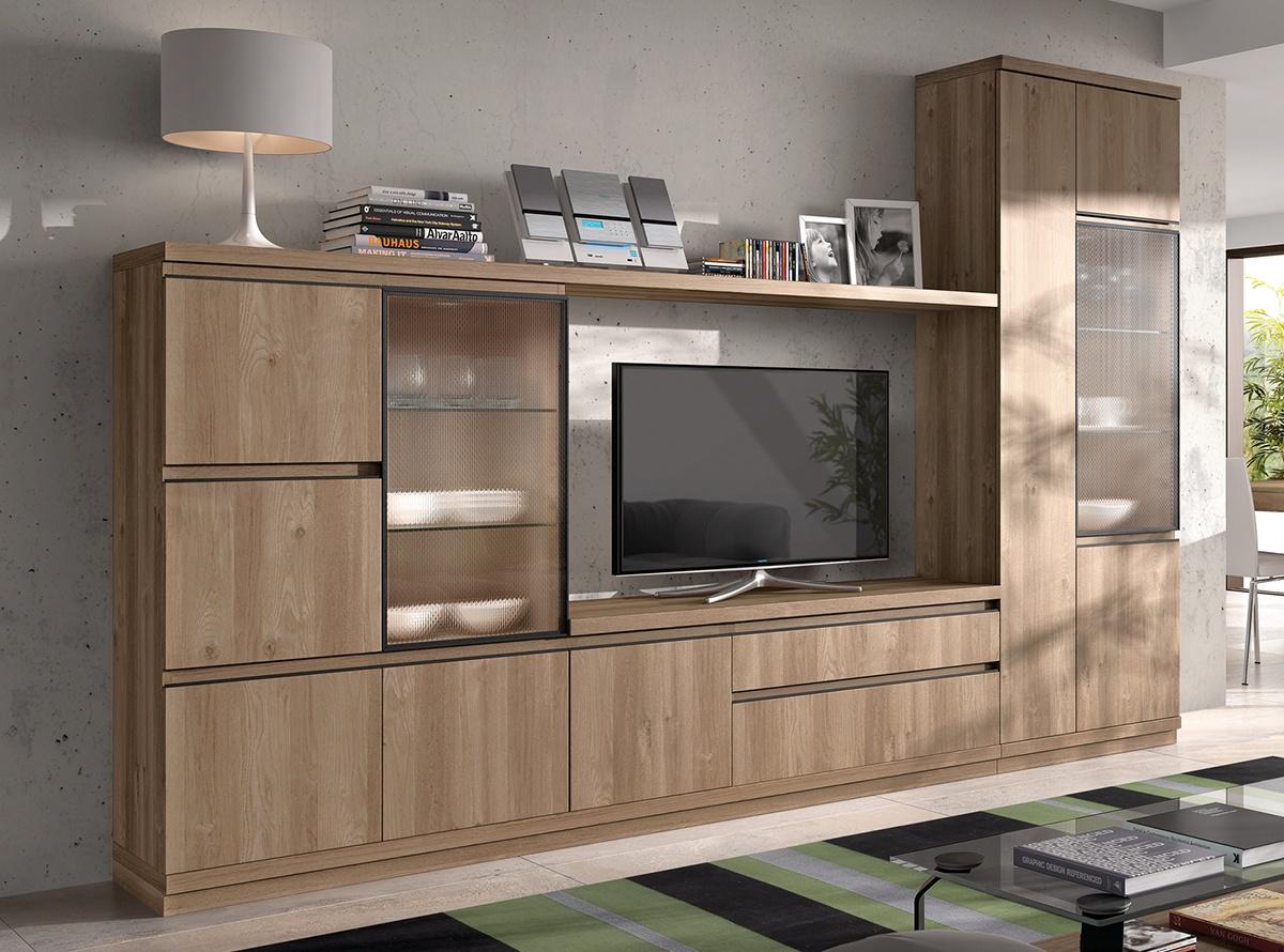 Mueble de salon seban salones modernos hipermueble - Hipermueble mallorca ...