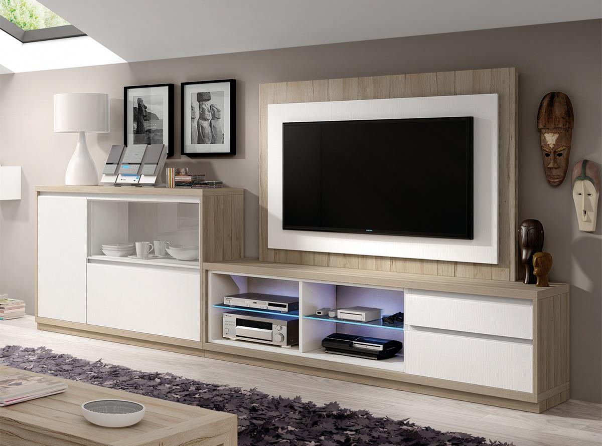 Mueble de salon musur salones modernos hipermueble - Muebles salon modernos ...