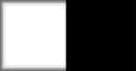 Blanco con plafón central negro