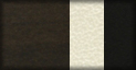 Nogal (tapizado blanco roto y negro)