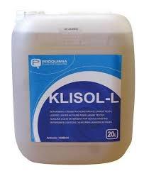 KLISOL L 20kg Detergente líquido alcalino para el lavado de ropa
