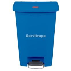Cub De Pedal De Resina Pedal Frontal 50l, Color Blau
