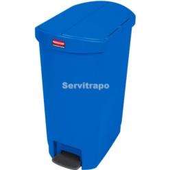 Cub De Pedal De Resina Pedal Lateral 50l, Color Blau