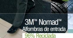 Estoreta Nomad Reciclada 1,15x1,8m. Negre
