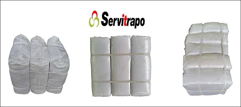 Trapos de limpieza de algodón para limpieza industrial