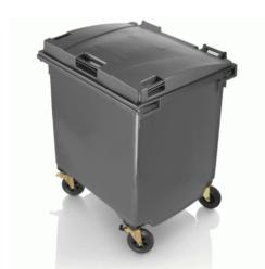NEW 2015 - Gran contenedor de basuras de 1100 litros tapa plana