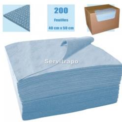 ABSORBENTS 1 CAIXA DE 200 FULLS DE 40 X 50 CM