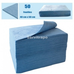 ABSORBENTS 1 BOSSA DE 50 FULLS DE 40 X 50 CM