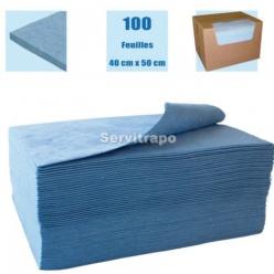 ABSORBENTS 1 CAIXA DE 100 FULLS DE 40 X 50 CM