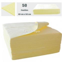 ABSORBENTS 1 BOSSA DE 50 FULLS 40 X 50 CM