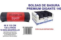 BOLSA BASURA PREMIUM GIGANTE 90X115CM GALGA 140