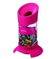 Contenidor per reciclatge de Piles 5L Vermell