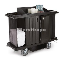 FG618900BLA carro Rubbermaid