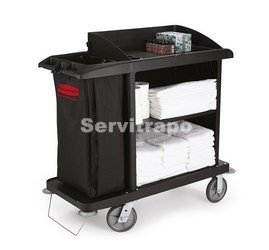 FG619000BLA carro Rubbermaid