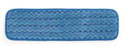 HYGEN - Mopa humida de microfibra, 40 cm - Blau amb tires s / codi de colors 46,0 x 14,5 x 1,6 10