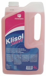 Klisol suave 4L Detergente líquido concentrado