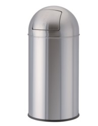 Paperera Bullet push Acer inoxidable 22L