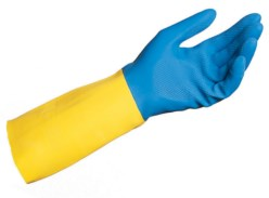 Guantes Duo-Mix 405 latex/neopreno superfuertes