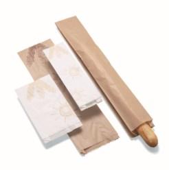 Bolsa de papel Celulosa 11+5x54cm