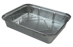 Bandeja aluminio 12 piezas con borde para tapa