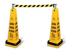 "Sistema de barricada ""Atención"" móvil"