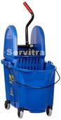 Combo Wave Brave con prensa vertical - 33L (azul)