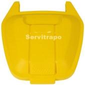 Tapa para contenedor móvil 110L (amarilla - ENVASES)